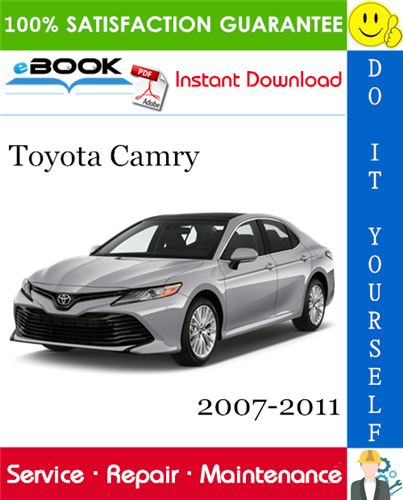 Thumbnail ☆☆ Best ☆☆ Toyota Camry Service Repair Manual 2007-2011 Download