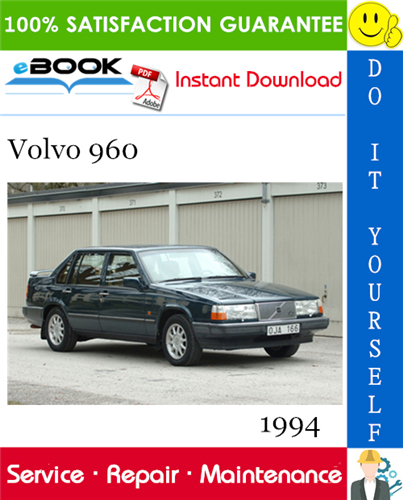 Thumbnail ☆☆ Best ☆☆ 1994 Volvo 960 Service Repair Manual
