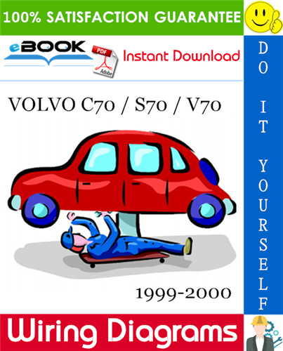 Thumbnail ☆☆ Best ☆☆ VOLVO C70 / S70 / V70 Wiring Diagrams 1999-2000 Download