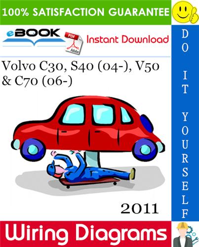 Download Volvo C30 S40 V50 C70 2011 Wiring Diagrams