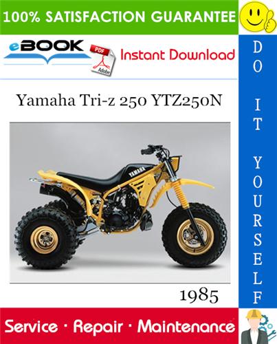Thumbnail ☆☆ Best ☆☆ 1985 Yamaha Tri-z 250 YTZ250N ATV Service Repair Manual