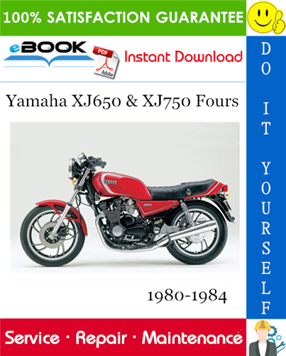 Thumbnail ☆☆ Best ☆☆ Yamaha XJ650 & XJ750 Fours Motorcycle Service Repair Manual 1980-1984 Download