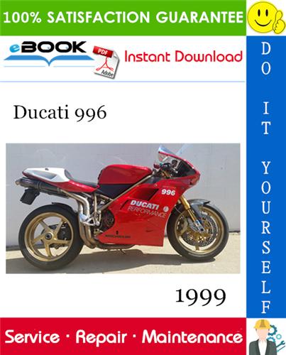 Thumbnail 1999 Ducati 996 Motorcycle Service Repair Manual
