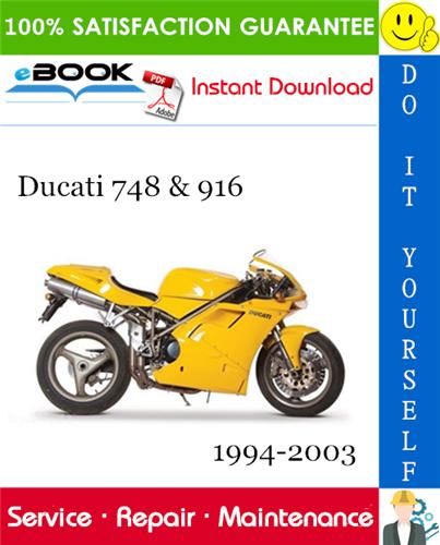 Thumbnail ☆☆ Best ☆☆ Ducati 748 & 916 Motorcycle Service Repair Manual 1994-2003 Download