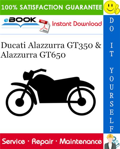 Thumbnail ☆☆ Best ☆☆ Ducati Alazzurra GT350 & Alazzurra GT650 Motorcycle Service Repair Manual