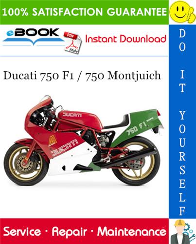 Thumbnail ☆☆ Best ☆☆ Ducati 750 F1 / 750 Montjuich Motorcycle Service Repair Manual