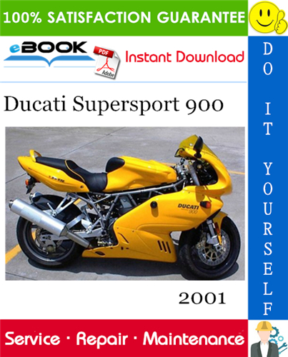 Thumbnail ☆☆ Best ☆☆ 2001 Ducati Supersport 900 Motorcycle Service Repair Manual