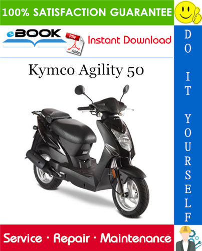 Thumbnail ☆☆ Best ☆☆ Kymco Agility 50 Scooter Service Repair Manual