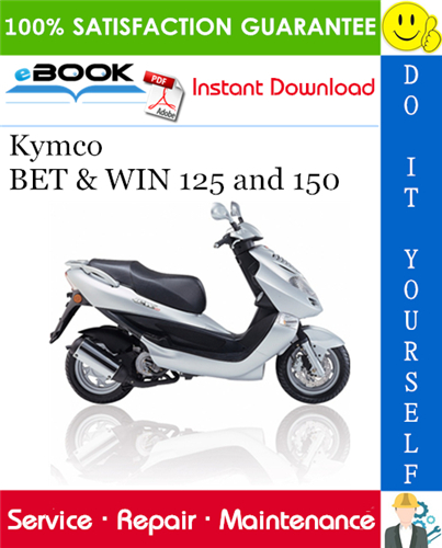 Thumbnail ☆☆ Best ☆☆ Kymco BET & WIN 125 and 150 Scooter Service Repair Manual