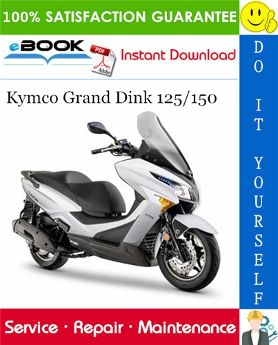 Thumbnail ☆☆ Best ☆☆ Kymco Grand Dink 125/150 Scooter Service Repair Manual