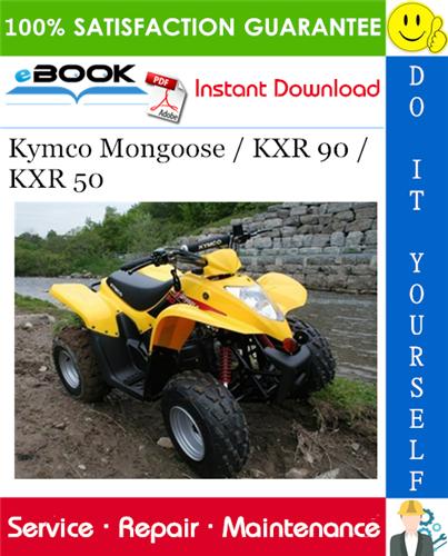 Thumbnail ☆☆ Best ☆☆ Kymco Mongoose / KXR 90 / KXR 50 ATV Service Repair Manual