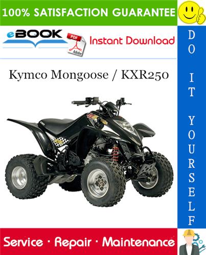 Thumbnail ☆☆ Best ☆☆ Kymco Mongoose / KXR250 ATV Service Repair Manual