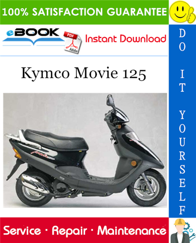 Thumbnail ☆☆ Best ☆☆ Kymco Movie 125 Scooter Service Repair Manual