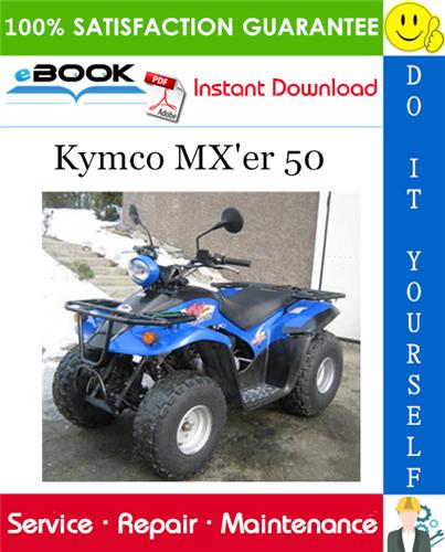 Thumbnail ☆☆ Best ☆☆ Kymco MXer 50 ATV Service Repair Manual