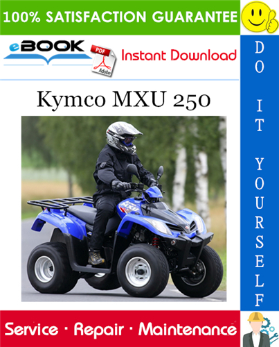 Thumbnail ☆☆ Best ☆☆ Kymco MXU 250 ATV Service Repair Manual
