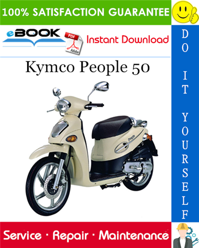 Thumbnail ☆☆ Best ☆☆ Kymco People 50 Scooter Service Repair Manual