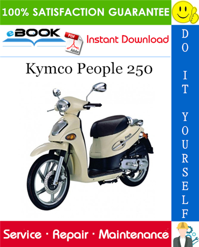 Thumbnail ☆☆ Best ☆☆ Kymco People 250 Scooter Service Repair Manual