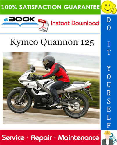 Thumbnail ☆☆ Best ☆☆ Kymco Quannon 125 Motorcycle Service Repair Manual