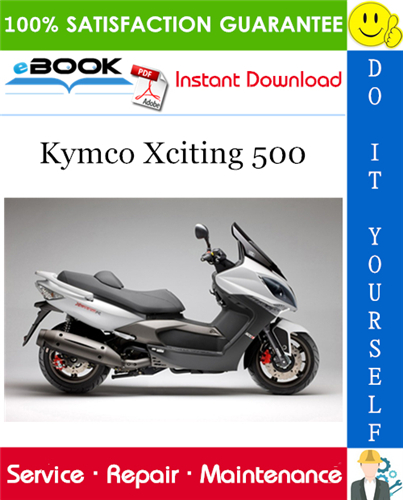 Thumbnail ☆☆ Best ☆☆ Kymco Xciting 500 Scooter Service Repair Manual