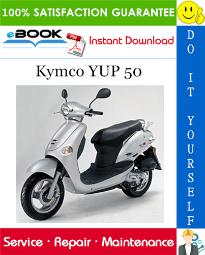 Thumbnail ☆☆ Best ☆☆ Kymco YUP 50 Scooter Service Repair Manual