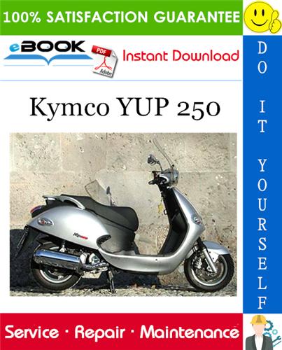 Thumbnail ☆☆ Best ☆☆ Kymco YUP 250 Scooter Service Repair Manual