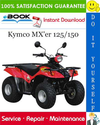 Thumbnail ☆☆ Best ☆☆ Kymco MXer 125/150 ATV Service Repair Manual