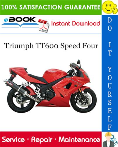 Thumbnail ☆☆ Best ☆☆ Triumph TT600 Speed Four Motorcycle Service Repair Manual