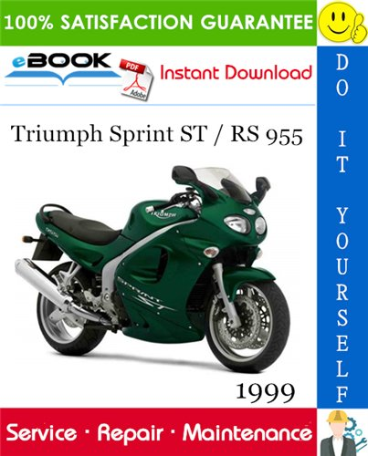 Thumbnail ☆☆ Best ☆☆ 1999 Triumph Sprint ST / RS 955 Motorcycle Service Repair Manual