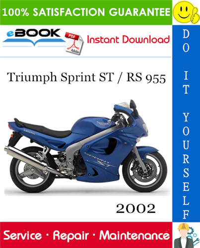 Thumbnail ☆☆ Best ☆☆ 2002 Triumph Sprint ST / RS 955 Motorcycle Service Repair Manual