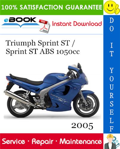 Thumbnail ☆☆ Best ☆☆ 2005 Triumph Sprint ST / Sprint ST ABS 1050cc Motorcycle Service Repair Manual