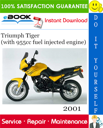 Thumbnail ☆☆ Best ☆☆ 2001 Triumph Tiger (with 955cc fuel injected engine) Motorcycle Service Repair Manual
