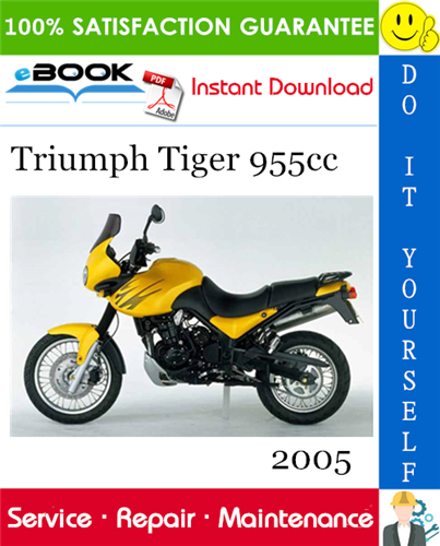 Thumbnail ☆☆ Best ☆☆ 2005 Triumph Tiger 955cc Motorcycle Service Repair Manual