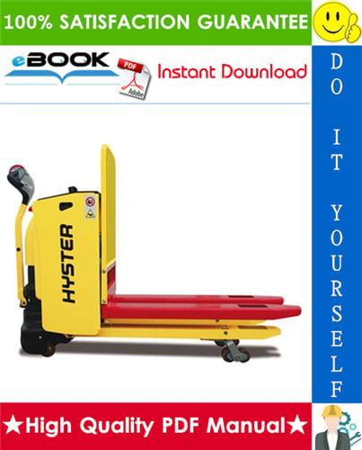 Thumbnail ☆☆ Best ☆☆ Hyster P2.0HL (A472) Shelf Stocker Service Repair Manual