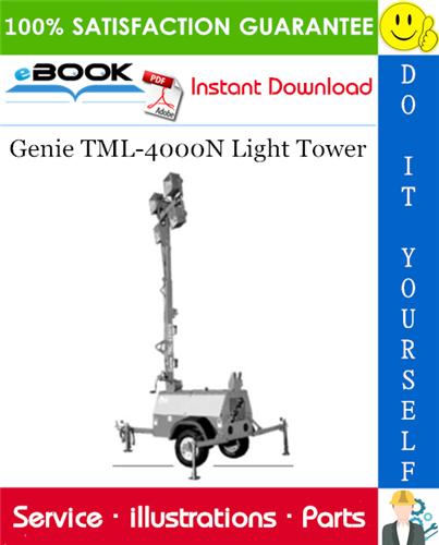 Thumbnail ☆☆ Best ☆☆ Genie TML-4000N Light Tower Parts Manual