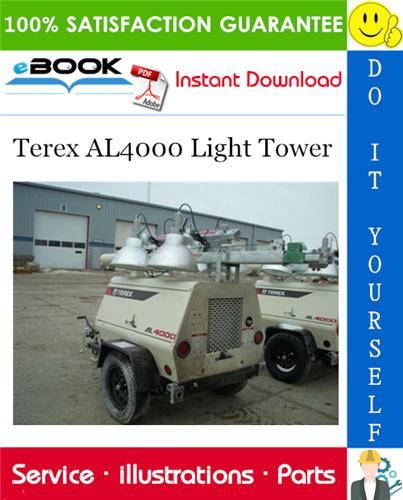 Thumbnail ☆☆ Best ☆☆ Terex AL4000 Light Tower Parts Manual
