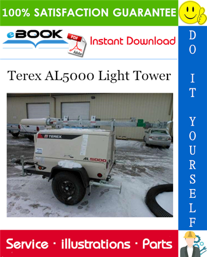 Thumbnail ☆☆ Best ☆☆ Terex AL5000 Light Tower Parts Manual