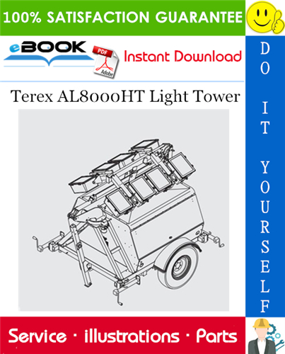 Thumbnail ☆☆ Best ☆☆ Terex AL8000HT Light Tower Parts Manual
