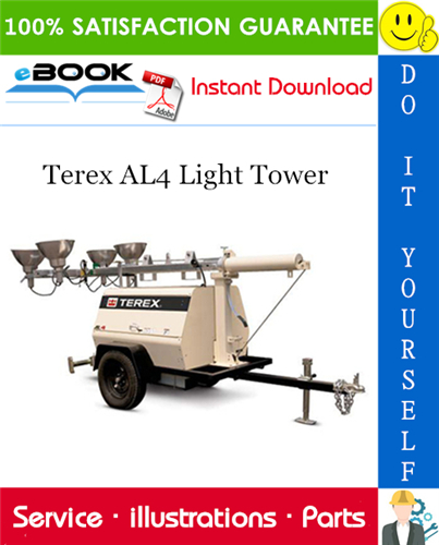 Thumbnail ☆☆ Best ☆☆ Terex AL4 Light Tower Parts Manual