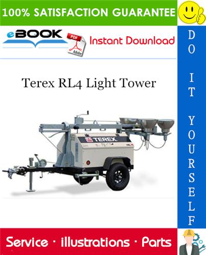 Thumbnail ☆☆ Best ☆☆ Terex RL4 Light Tower Parts Manual
