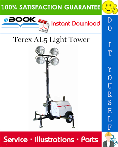 Thumbnail ☆☆ Best ☆☆ Terex AL5 Light Tower Parts Manual
