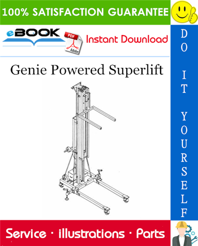 Thumbnail ☆☆ Best ☆☆ Genie Powered Superlift Parts Manual