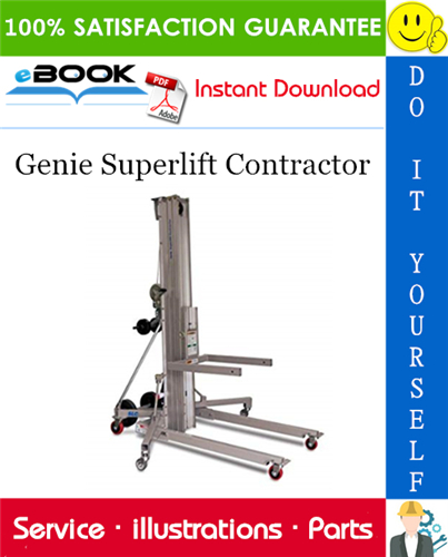 Thumbnail ☆☆ Best ☆☆ Genie Superlift Contractor Parts Manual (Serial Number Range: from 9595-101)