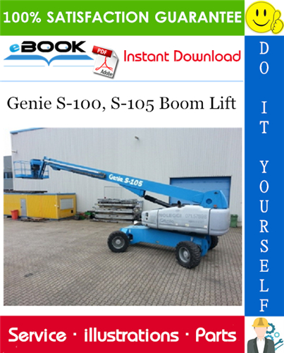 Thumbnail ☆☆ Best ☆☆ Genie S-100, S-105 Boom Lift Parts Manual (Serial Number Range: from SN 101)