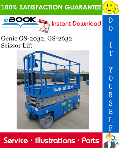 Thumbnail ☆☆ Best ☆☆ Genie GS-2032, GS-2632 Scissor Lift Parts Manual (Serial Number Range: to SN 59999)