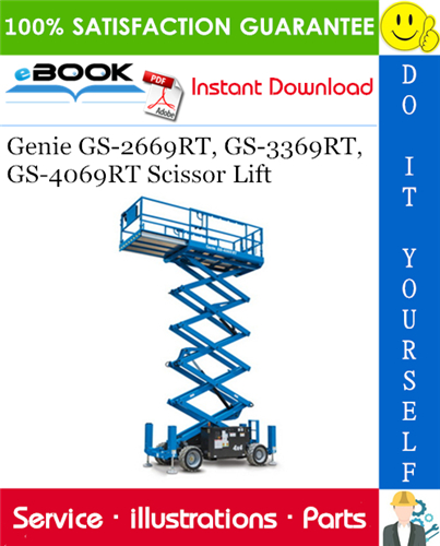 Thumbnail ☆☆ Best ☆☆ Genie GS-2669RT, GS-3369RT, GS-4069RT Scissor Lift Parts Manual (Serial Number Range: from SN GS6911-101)