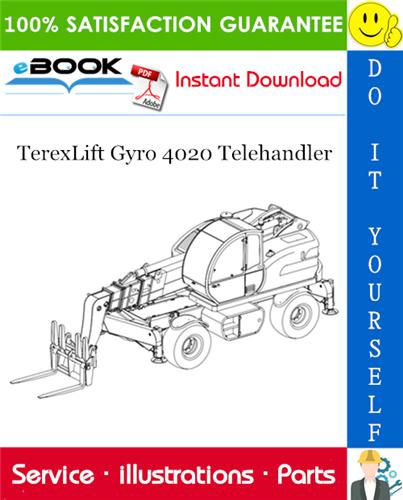 Thumbnail ☆☆ Best ☆☆ TerexLift Gyro 4020 Telehandler Parts Manual