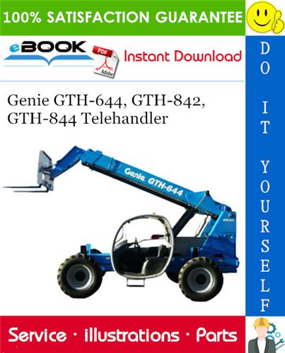 Thumbnail ☆☆ Best ☆☆ Genie GTH-644, GTH-842, GTH-844 Telehandler Parts Manual