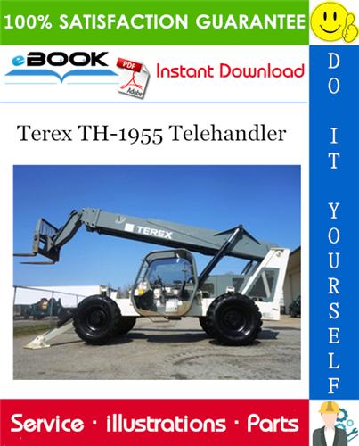 Thumbnail ☆☆ Best ☆☆ Terex TH-1955 Telehandler Parts Manual (Serial number range: From serial n. 19925)