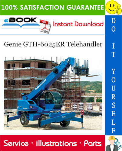 Thumbnail ☆☆ Best ☆☆ Genie GTH-6025ER Telehandler Parts Manual