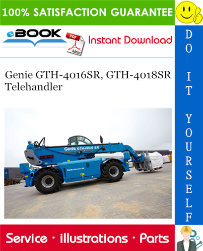 Thumbnail ☆☆ Best ☆☆ Genie GTH-4016SR, GTH-4018SR Telehandler Parts Manual #2